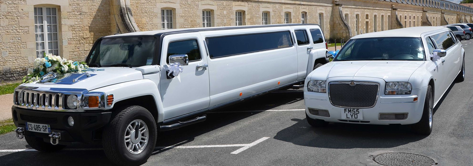 Location limousine Hummer H3 Chrisler C300